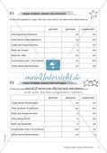 Längen, Umfang und Flächeninhalt: Materialien in zwei Differenzierungsstufen Preview 8