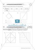 Längen, Umfang und Flächeninhalt: Materialien in zwei Differenzierungsstufen Preview 9