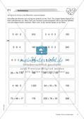 Terme und Gleichungen: Materialien in zwei Differenzierungsstufen Preview 6