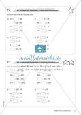 Terme und Gleichungen: Materialien in zwei Differenzierungsstufen Preview 8