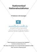 Stationenarbeit: Nationalsozialismus Preview 2