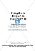 Evangelische Religion an Stationen: Glaube hat viele Gesichter Preview 2