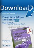 Evangelische Religion an Stationen: Frage nach Gott Preview 1