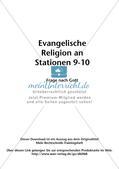 Evangelische Religion an Stationen: Frage nach Gott Preview 2