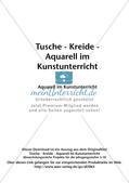 Vertiefung von Materialeinsatz: Aquarell Preview 2