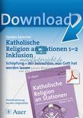 Kath. Religion an Stationen: Schöpfung Preview 1