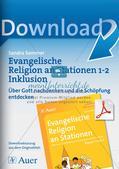 Ev. Religion an Stationen: Die Schöpfung Preview 1