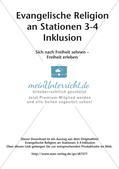 Ev. Religion an Stationen: Freiheit Preview 2