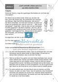 Kath. Religion an Stationen: Altes Testament: Schöpfung und Sündenfall Preview 10