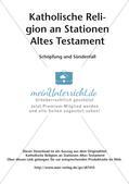 Kath. Religion an Stationen: Altes Testament: Schöpfung und Sündenfall Preview 2