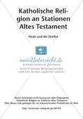 Kath. Religion an Stationen: Altes Testament: Noah und die Sintflut Preview 2