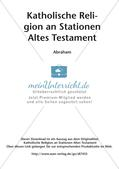 Kath. Religion an Stationen: Altes Testament: Abraham Preview 2
