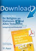Ev. Religion an Stationen: Altes Testament: Schöpfung und Sündenfall Preview 1