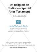 Ev. Religion an Stationen: Altes Testament: Noah und die Sintflut Preview 2