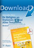 Ev. Religion an Stationen: Altes Testament: Abraham Preview 1