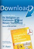 Ev. Religion an Stationen: Neues Testament: Jesu Tod und Auferstehung Preview 1