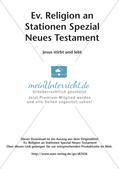 Ev. Religion an Stationen: Neues Testament: Jesu Tod und Auferstehung Preview 2
