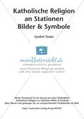 Kath. Religion an Stationen: Symbol Taube Preview 2