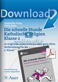 Die schnelle Stunde Kath. Religion: Klasse 2 Preview 1