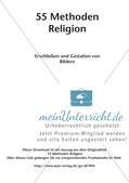 Methoden Religion: Erschließen und Gestalten von Bildern Preview 2