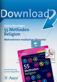 Methoden Religion: Wahrnehmen meditativer Elemente Preview 1