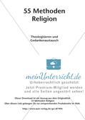 Methoden Religion: Theologisieren und Gedankenaustausch Preview 2