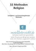 Methoden Religion: Schuljahres- und themenbegleitende Methoden Preview 2