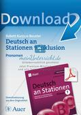 Stationsarbeit Inklusion: Pronomen Preview 1