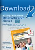 Mathematik üben: Zuordnungen Preview 1