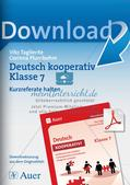 Deutsch kooperativ: Kurzreferate halten Preview 1