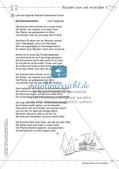 Deutsch kooperativ: Balladen lesen und erschließen Preview 12