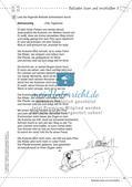 Deutsch kooperativ: Balladen lesen und erschließen Preview 15