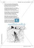 Deutsch kooperativ: Balladen lesen und erschließen Preview 8