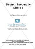 Deutsch kooperativ: Erzählperspektiven umsetzen Preview 2