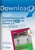 Deutsch auf dem Schulhof: Lesen und Rezipieren Preview 1