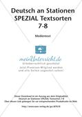 Stationsarbeit: Medientext Preview 2
