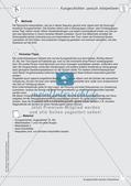 Kooperativ: Szenische Interpretation von Kurzgeschichten Preview 3