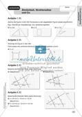Mathe an Stationen - Inklusion: Ähnlichkeit, Strahlensätze und Co. Preview 9