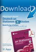 Deutsch an Stationen/Inklusion: Bewerbung schreiben Preview 1