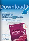 Deutsch an Stationen/Inklusion: Gut begründen Preview 1