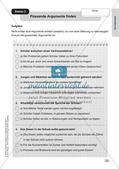 Deutsch an Stationen/Inklusion: Gut begründen Preview 5