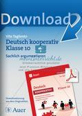 Deutsch kooperativ              Sachlich argumentieren Preview 1