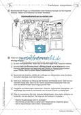 Deutsch kooperativ     Karikaturen interpretieren  Schreibgespräch   szenische Darstellungsform Preview 5