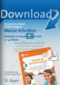 Schriften-Portfolio Preview 1