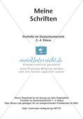 Schriften-Portfolio Preview 2