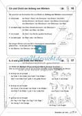 Regelkarten Grammatik: Buchstaben und Laute Preview 11