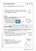 Regelkarten Grammatik: Buchstaben und Laute Preview 6