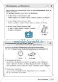 Regelkarten Grammatik: Wörter und Wortbildung Preview 5
