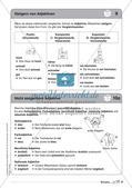Regelkarten Grammatik: Adjektive, Adverbien, Präpositionen, Konjunktionen Preview 10