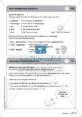 Regelkarten Grammatik: Adjektive, Adverbien, Präpositionen, Konjunktionen Preview 11